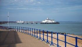 Eastbourne Pier. Photography of Eastbourne Pier, South England, UK Stock Photos
