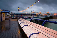 Eastbourne pier, UK. Royalty Free Stock Images