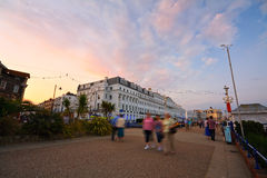 Eastbourne seafront. Royalty Free Stock Photography