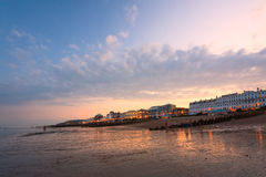 Eastbourne seafront, UK. Stock Images