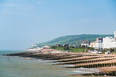 Eastbourne seaside Royalty Free Stock Photo