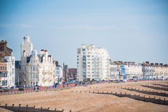 Eastbourne seaside Royalty Free Stock Photography