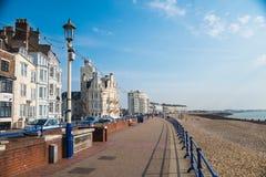 Eastbourne sjösida Fotografering för Bildbyråer
