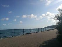 Eastbourne-Strand lizenzfreies stockbild