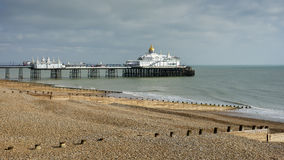 EASTBOURNE, SUSSEX/UK - FEBRUARY 19 : View of the Pier in Eastbo Stock Photography