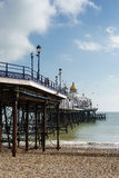 EASTBOURNE, SUSSEX/UK - FEBRUARY 19 : View of the Pier in Eastbo Stock Image