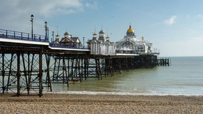EASTBOURNE, SUSSEX/UK - FEBRUARY 19 : View of the Pier in Eastbo Stock Photo