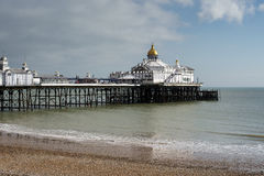 EASTBOURNE, SUSSEX/UK - FEBRUARY 19 : View of the Pier in Eastbo Stock Images