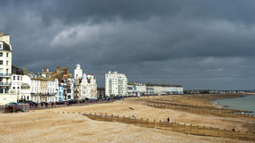 EASTBOURNE, SUSSEX/UK - FEBRUARY 19 : View of the skyline in Eas Stock Photography