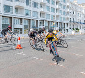 EASTBOURNE, UK - JUNE 5 -Eastbourne Cycling Festival on June 5 2 Royalty Free Stock Photo