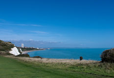 Eastbourne from Whitbread Hollow Stock Images