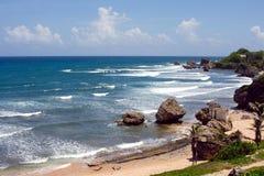 eastcoast Барбадосских островов Стоковые Изображения