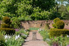 Eastcote House Gardens, historic walled garden maintained by a community of volunteers in the Borough of Hillingdon, London, UK