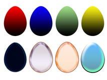 easter ägg stock illustrationer