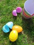 easter äggjakt Arkivfoto