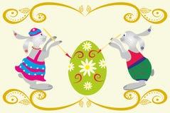 easter äggkanin Royaltyfri Bild