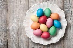 easter äggplatta fotografering för bildbyråer