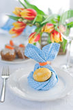 Easter. The served table for Easter Royalty Free Stock Images