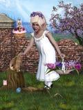 Easter 3. 3d render of Easter 3 Stock Images