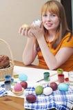 Easter 3 jajka fotografia stock