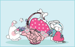 easter royaltyfri illustrationer