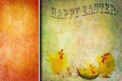 Easter abstract vintage card design Stock Photo