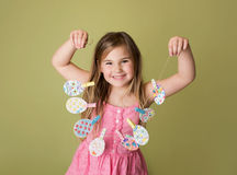Easter Activities and Crafts Stock Image