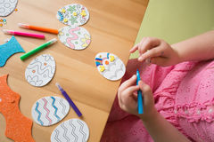Easter Activities and Crafts Royalty Free Stock Photography