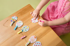 Easter Activities and Crafts Stock Images