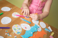 Easter Activities and Crafts Royalty Free Stock Photo