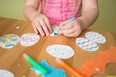 Easter Activities and Crafts Royalty Free Stock Images