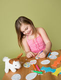 Easter Activities and Crafts Stock Photography