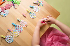 Easter Activities and Crafts Royalty Free Stock Photos