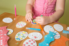 Easter Activities and Crafts Stock Photo
