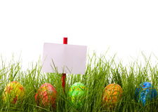 Easter advertisement Royalty Free Stock Images