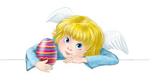 Easter angel Royalty Free Stock Photography