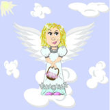 Easter angel Royalty Free Stock Images