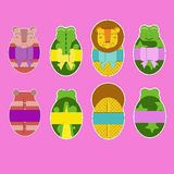 Easter animals Royalty Free Stock Photos