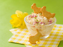 Easter appetizer Stock Image