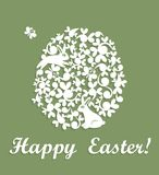 Easter applique Stock Photography