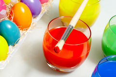 Easter aquarelle Royalty Free Stock Photos