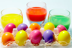 Easter aquarelle Stock Images