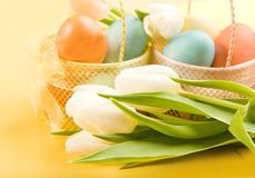 Easter Arrangement Stock Photo