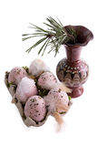 Easter Arrangement Royalty Free Stock Photography