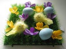 Easter arrangement stock photos