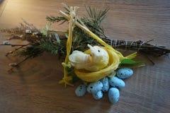 Easter , arrangements , ornamentation , symbols. Easter arrangements ornamentation eggs symbols royalty free stock photo