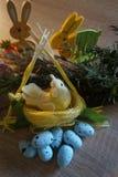 Easter , arrangements , ornamentation , symbols. Easter arrangements ornamentation symbols holiday stock photography