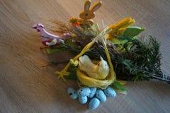 Easter , arrangements , ornamentation , symbols. Easter arrangements ornamentation symbols eggs stock photography