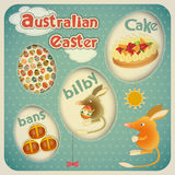 Easter Australian Card Royalty Free Stock Image