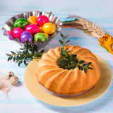 Easter babka Stock Image